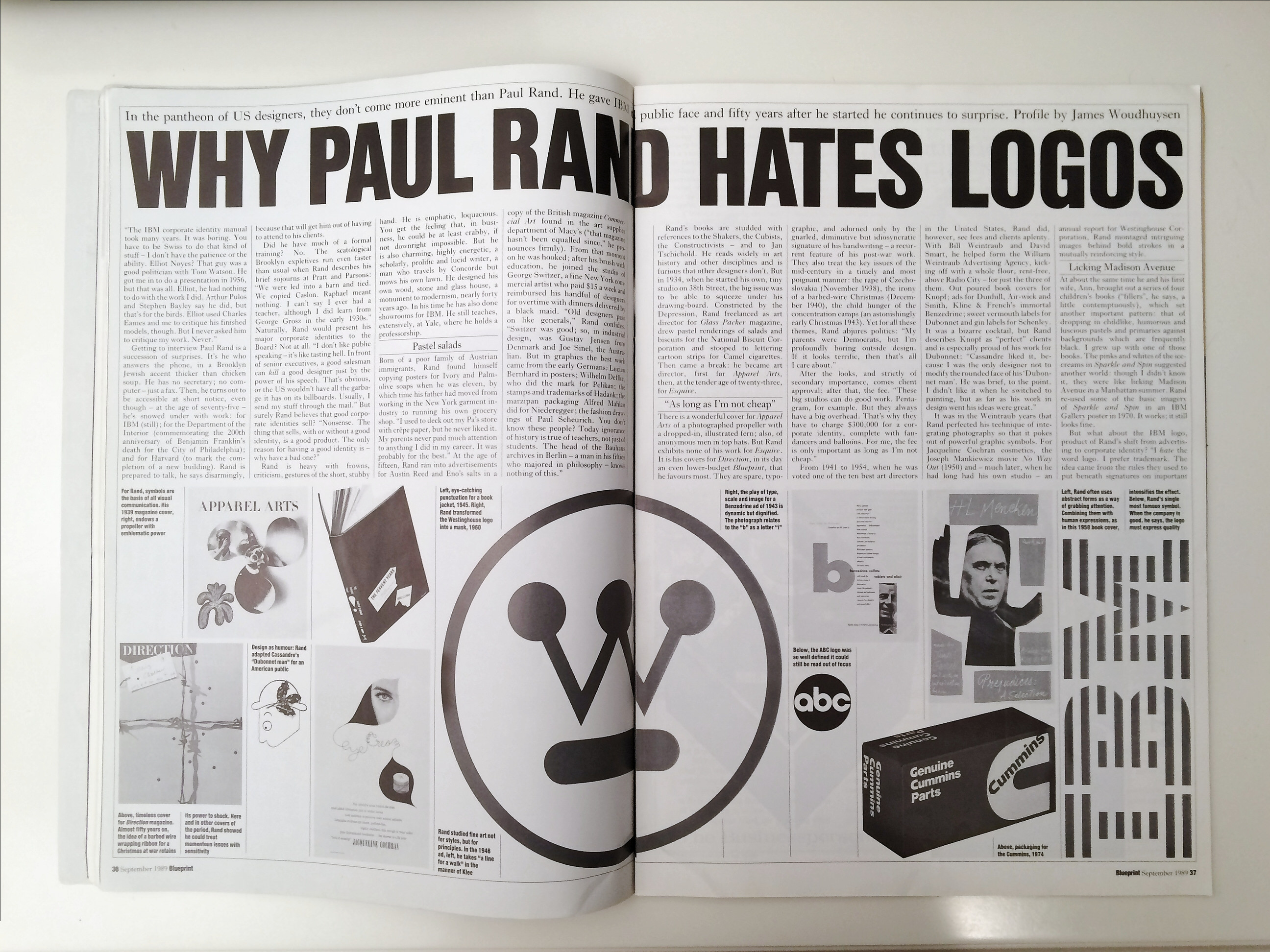 Why paul rand hates logos paul rand modernist master 1914 1996 malvernweather Images